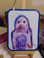 Purple Penguin for Lumy (Zoomed Out) by JiaRoyale