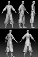 zbrush sculpt - steampunk character by Athey