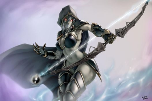 Drow Ranger by irving-zero
