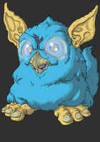 Furby by Cannibal-Cartoonist