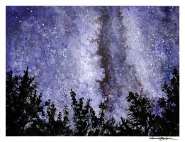 Night Sky by M-Everham