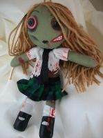 Zombie school girl massacre by dollmaker88