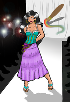 Mod. Disney Fashion: Esmeralda by CaptBeans