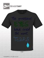 Tears Shirt by BlueABC123
