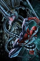Spiderman vs Dc.Ock by illustr8now