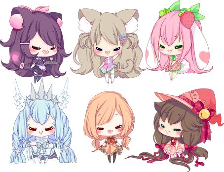 Smol Chibi Batch 1 by Reminel