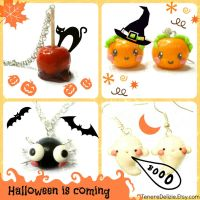 Halloween is coming! Kawaii Halloween jewelry by TenereDelizie