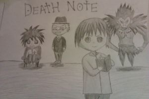 Death Note chibi by Adripika