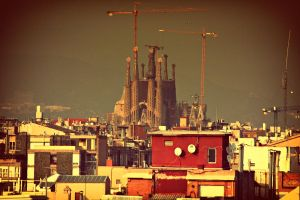 Sagrada Familia by Csipesz