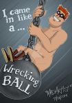 Wrecking Ball, Red! by Doks-Assistant
