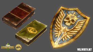 The Sims Medieval - Props 1 by DeadXIII