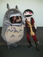 Totoro Cosplay by jncomplete