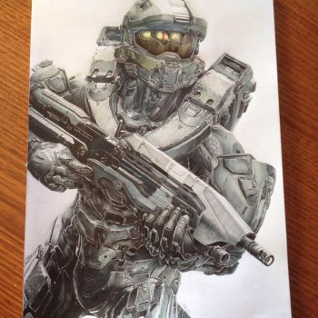 Master Chief Competition Submission by PatrickRyant