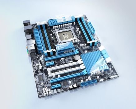 Asus P9X79 by AN10s
