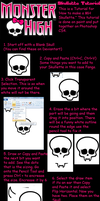 Skullette Tutorial by Gomamon4life