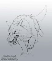 Winter Eternal FROST-WOLF_GIF by RiazKhanEusouff by riazkhan