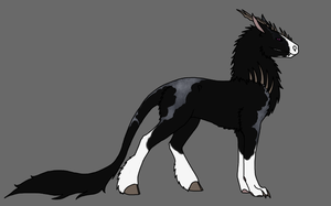 Black Chimera Cathaoir - For Sale by evil-firewolf
