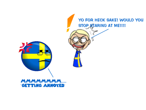 SatW and CountryBall: Both Swedens by nanabusia63