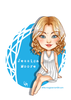 Chibi Jessica [SUPERNATURAL] (Version 2) by White-Magician