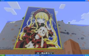 Shinku On Minecraft by Miccopicco