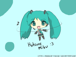 Hatsune Miku by aces-of-the-sky