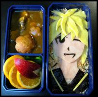Kagamine Curry by sake-bento