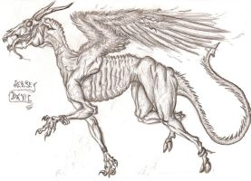 The Jersey Devil by Schytelizard94