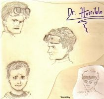 Dr. Horrible Sketches by RascalRoy