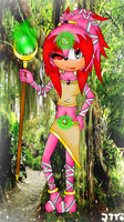 Gift Kathy The Echidna by JessieTheTiger