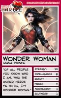 Trading Card - Wonder Woman by jessiesheram