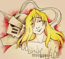 Alphonse Elric by morganadulac