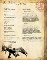 MH Tactics Rathian Stats Page by Schneider368