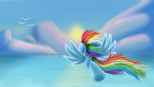 Fly to the sun by Polex-P
