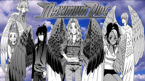 Maximum Ride Manga Poster by JayPrower