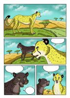 Cheetahs pag1 by RUNNINGWOLF-MIRARI