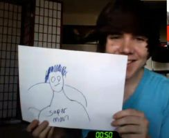 Damon Fizzy (DeeFizzy)'s Superman Drawing by SmoshyArt