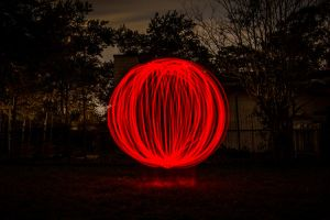 Red Orb 1 by 904PhotoPhactory