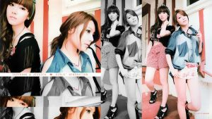 sooyoung and jessica wallpaper by SNSDartwork