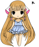 Cute Chii From Chobits by kerurichan