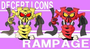 Rampage (transformers:ROTF) by dappeppad