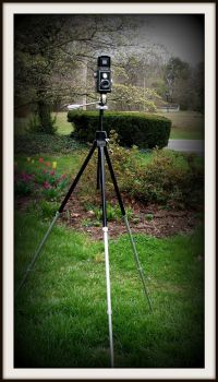 Restored Davidson Tripod by FallisPhoto