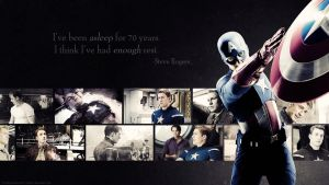 Avengers Wallpaper Set - Captain America by Sidhrat