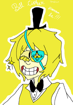 Bill cipher wanna be by Zuchiru