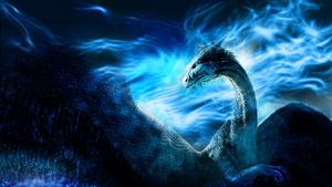 Custom Saphira Wallpaper by Blakkrskera