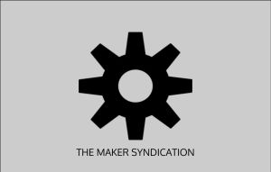 Maker Syndicated Flag by AxisCreed