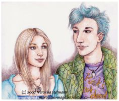 HP Teddy and Victoire by Verlisaerys