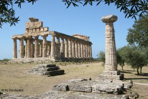 Paestum - Temple of Athena by Grishnakh666
