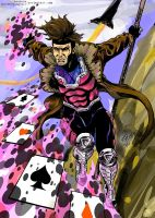 Gambit Colors by thelearningcurv