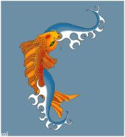 Koi Fish by iveroon