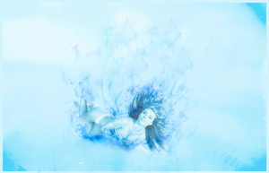 Girl on Blue Fire by C-Lo-2012